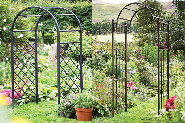 Quite Often A Metal Garden Arch Is Used To Frame An Adjacent Or Nearby Distant View That Captures The Landscape Beyond